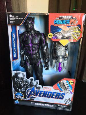 Black Panther Marvel Action Figure for sale! for Sale in Pasadena, CA