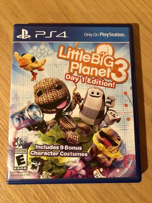 Little Big Planet 3 for PS4 for Sale in Bellingham, WA