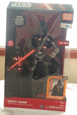 Darth Vader Animatronic Interactive Figure Toys R Us exclusive for Sale in Richmond, CA