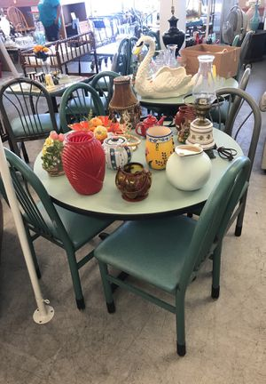 Table with four chairs for Sale in Cahokia, IL