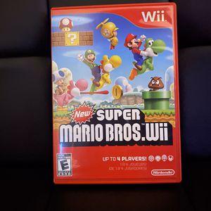Super Mario Bros. For Nintendo Wii for Sale in Miami, FL