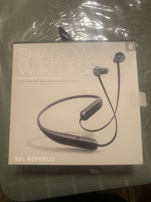 *NEW* Sol Republic Shadow Wireless Bluetooth Headphones for Sale in Des Plaines, IL