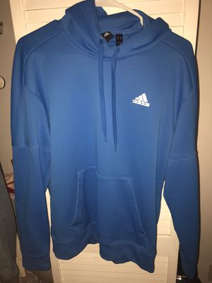 Adidas Men's Blue Sports Hoodie for Sale in Hollywood, FL