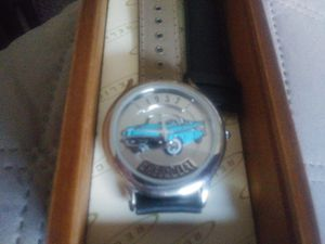 1957 Chevy watch in its wooden case.its still new but has been put up for a long time ,never worn. for Sale in Middletown, OH