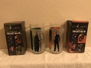 Star Trek Collectible Glasses for Sale in Las Vegas, NV