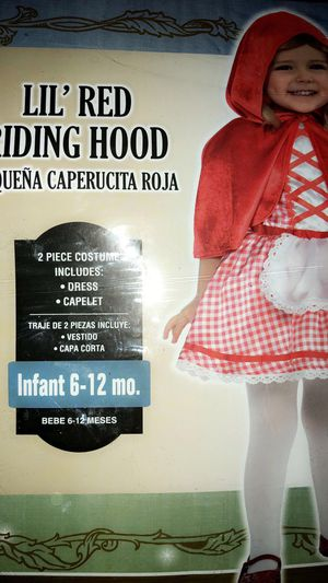 Little Red Riding Hood Costume with Basket for Sale in Houston, TX