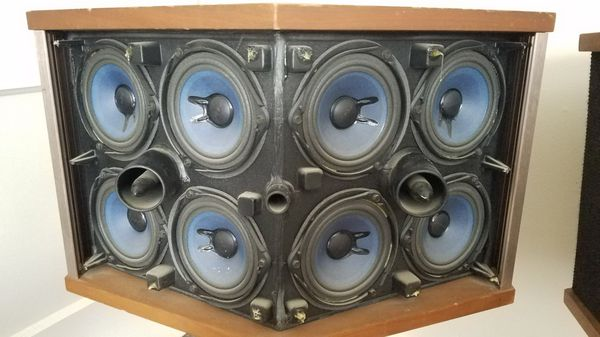 Bose 901 Series VI speakers w/stands and EQ