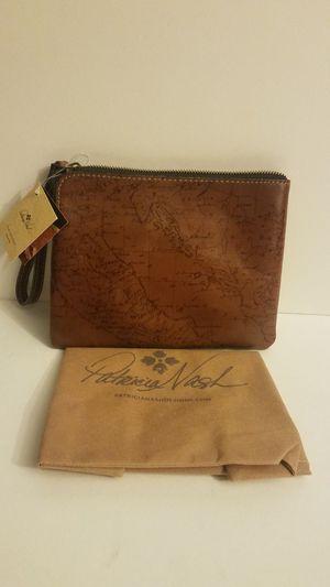 Patrcia Nash signature map zipper pouch for Sale in El Monte, CA