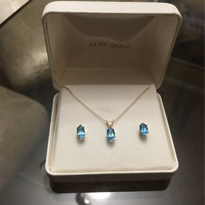 14k Gold N Gems Set for Sale in Des Plaines, IL