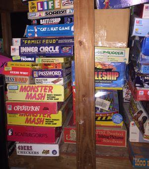 Vintage Board Games Over 125+ for Sale in Stanton, CA