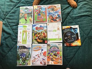 Wii Games for Sale in Temecula, CA
