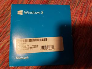 Windows 8 disks and key for Sale in Everett, WA