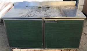 Used stainless steel top cabinet/workbench for Sale in Fresno, CA