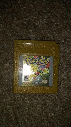 Pokemon gold version for Sale in Menifee, CA