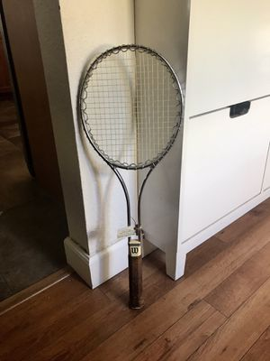 Vintage Jimmy Connors Edition Tennis Racket for Sale in Scottsdale, AZ