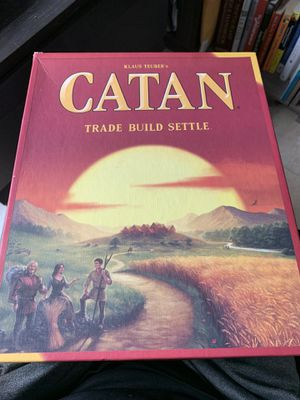Catan Board Game for Sale in St. Pete Beach, FL