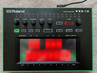 Roland TB-3 AIRA Touch Bassline Synthesizer for Sale in Corona,  CA