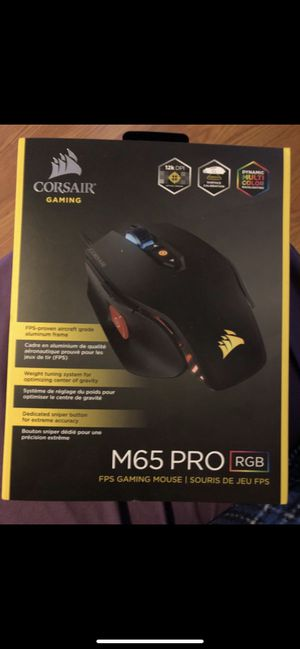 Corsair gaming mouse for Sale in Chicago, IL