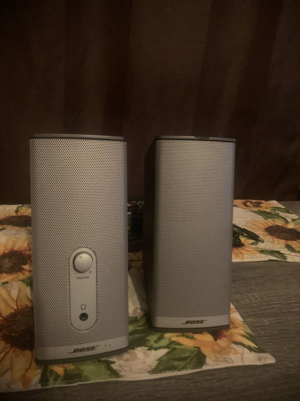 Bose companion 2 series 2 speakers