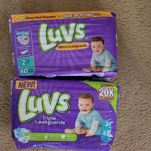 Diapers size 2 for Sale in Chesapeake, VA