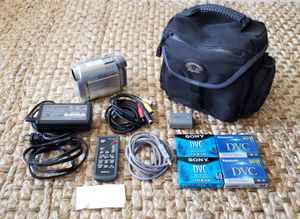Sony Handycam DCR-HC20 Video Camera + Bag + Accessories for Sale in Gaithersburg, MD