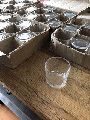 60 tea light candle glass votives for Sale in Alexandria, VA