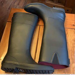 Women's SZ 10 Tommy Hilfiger Rain Boots for Sale in Des Moines, IA