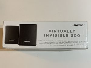 Bose Virtually Invisible 300 Wireless Surround Speakers for Sale in Westminster, CA