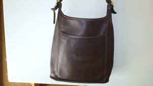 Vintage Coach Stewardess Brown Leather Shoulder Bag - Style S5E9525 for Sale in Dublin, OH