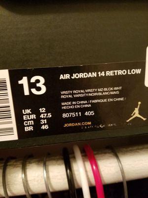 Jordan retro 14 low for Sale in San Diego, CA