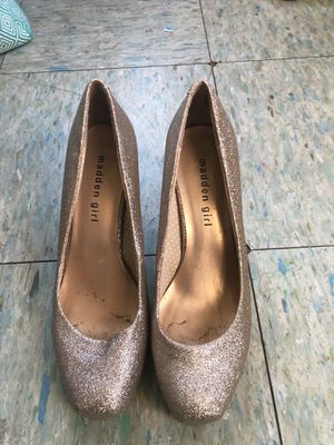 Gold Glitter Heels for Sale in Imperial, PA