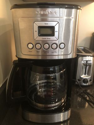 Cuisinart coffee maker with free filters for Sale in Baltimore, MD