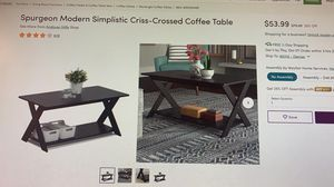 Coffee Table from Wayfair for Sale in Denver, CO