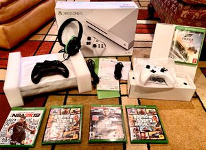 Xbox One S - 1TB - Like NEW!!!! - 4 Games - 2 Controllers - Headset for Sale in Smoke Rise, GA