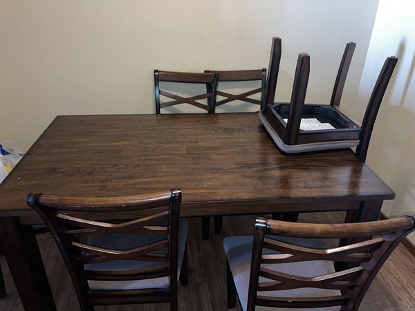 Sectional and dining table