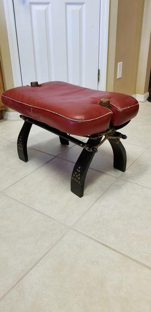 Vintage Red Camel Saddle for Sale in Palm Bay, FL