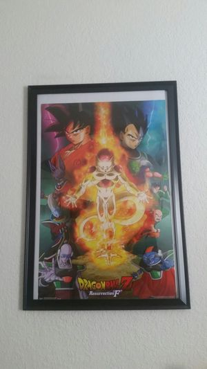 Dragonball Z Resurrection F Poster for Sale in Clearwater, FL