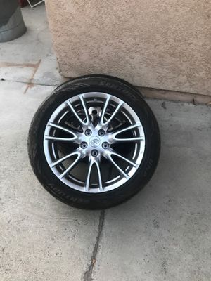 All 4 g37 rims for Sale in Riverside, CA