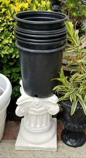 5-Gal nursery plant pot @$2 each for Sale in Irvine, CA