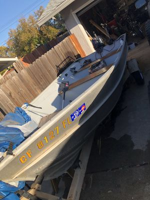 Valco 14' aluminum fishing boat for Sale in Roseville, CA