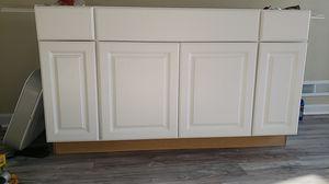 Kitchen cabinet sink base 5ft for Sale in Norfolk, VA