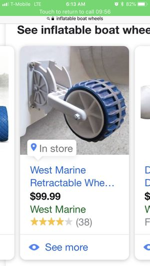 Inflatable boat wheels for Sale in Chula Vista, CA
