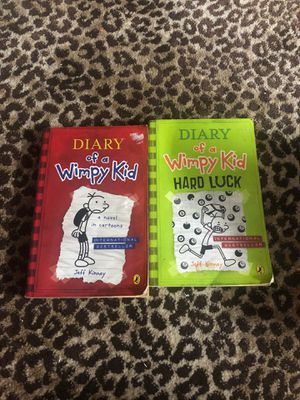 2 books ——Diary of a wimpy Kid for Sale in Tampa, FL