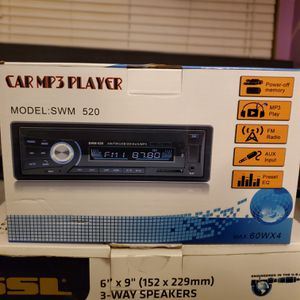 Car MP3 Player SWM 520 Bluetooth Ready for Sale in Greenwood Village, CO