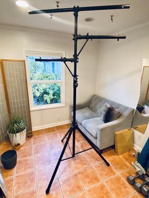 Lighting Stand with Side Bars for Sale in Portland, OR