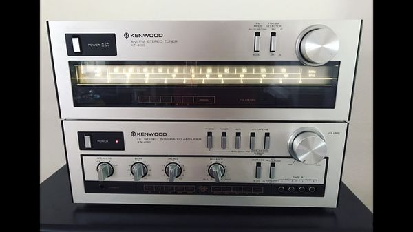 Kenwood KT400 KA400 integrated amplifier and tuner vintage stereo for Sale  in Arcadia, CA - OfferUp
