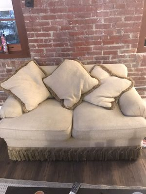 Loveseat couch with pullout bed for Sale in Baltimore, MD