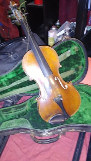 1904 Pat. Antonio Stradivari Reproduction Violin w case for Sale in Plymouth, CA