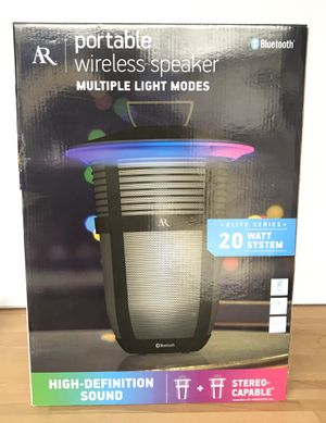 AR Santa Clara II Indoor Outdoor Wireless Bluetooth Speaker for Sale in Bellflower, CA