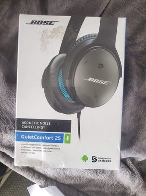 Bose QC25 new noice cancelling headphones for Sale in Stockton, CA